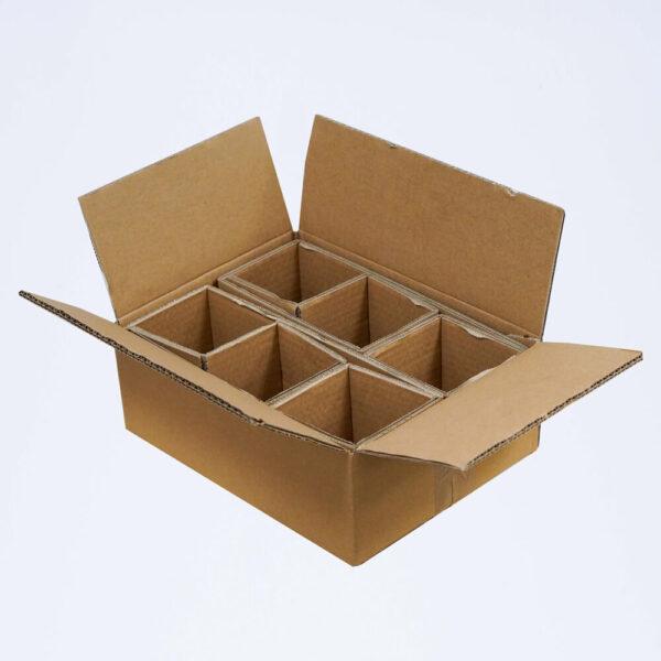 carton 6 pots