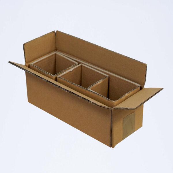 Carton 3 pots